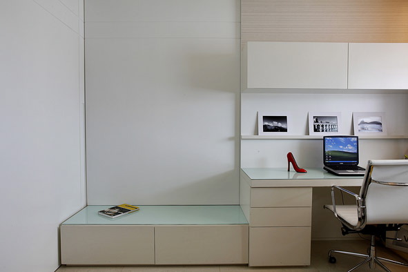 Fotos De Sala De Tv Com Escritorio ~ Decoração de Escritório e Sala – A Arte de integrar ambientes