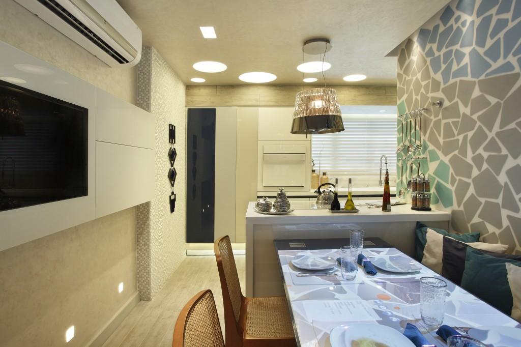 Projeto de Cozinha Planejada Mostra Casa Cor Rio 2013