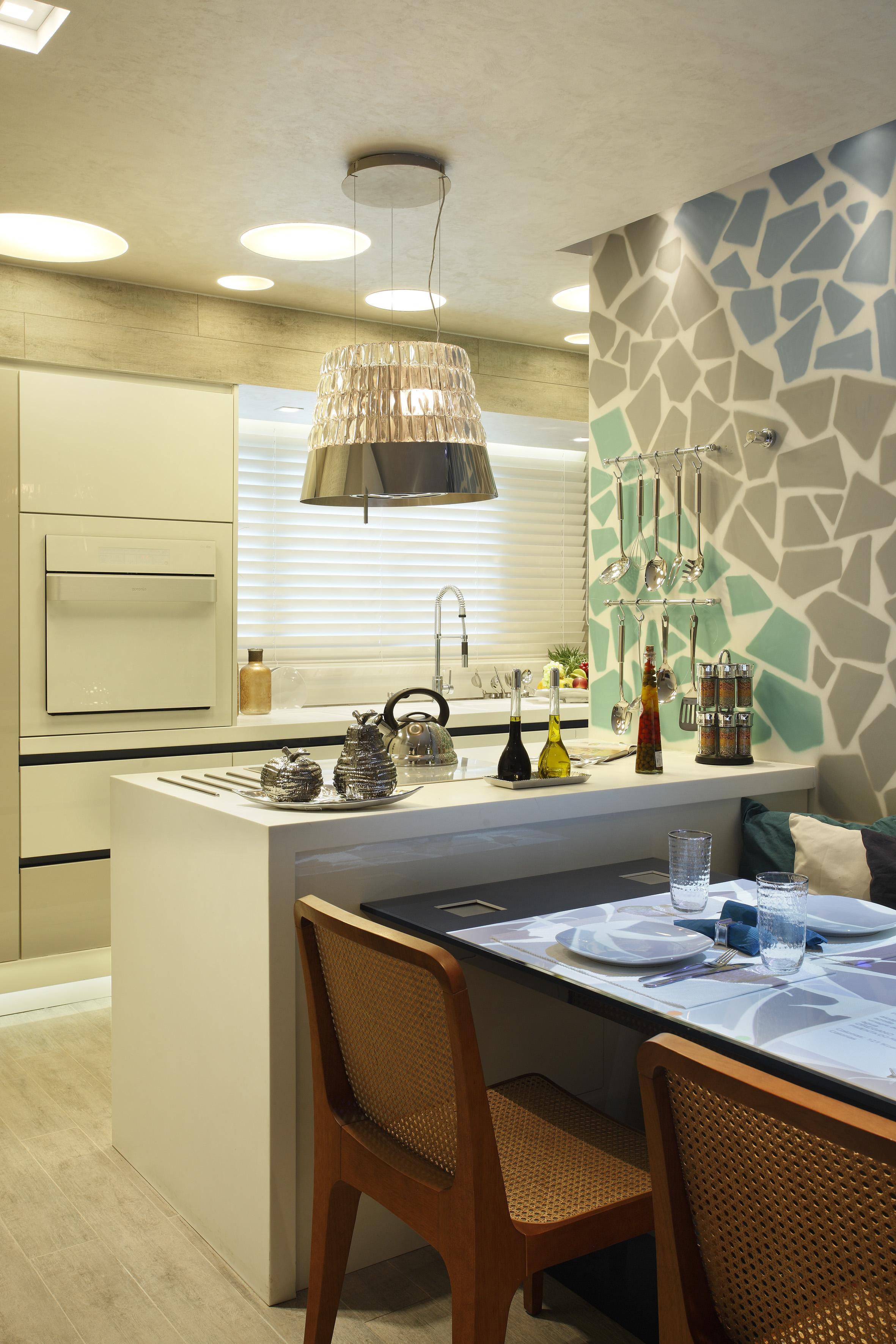 Projeto de decoração de cozinha - Casa Cor 2013