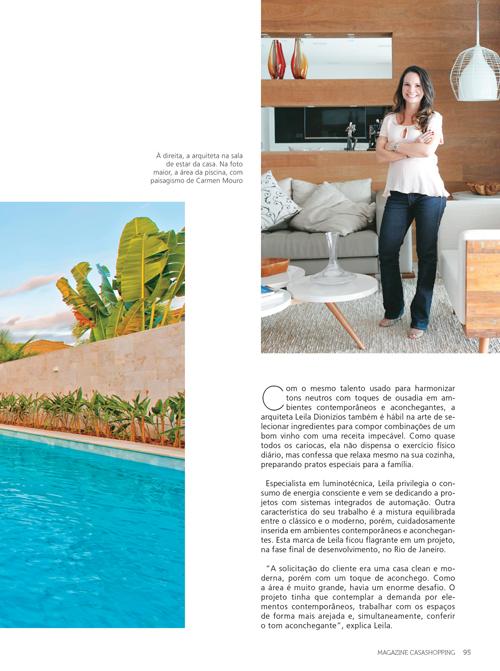Energia Consciente | Leila Dionizios na Magazine CasaShopping