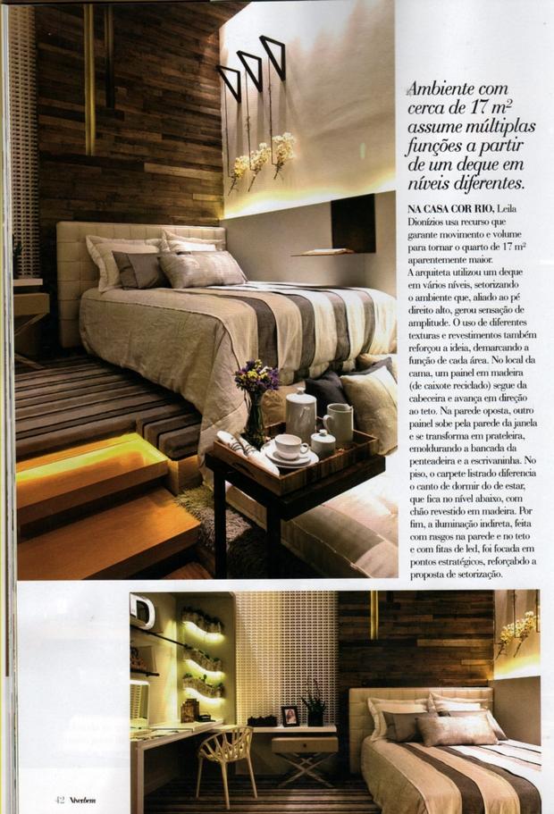 Arquiteta Leila Dionizios na Revista Viver Bem - Edição 224
