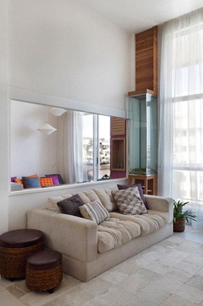 Ideias de Decoraç u00e3o para Apartamentos Pequenos -> Decoração De Pequenos Apartamentos Fotos