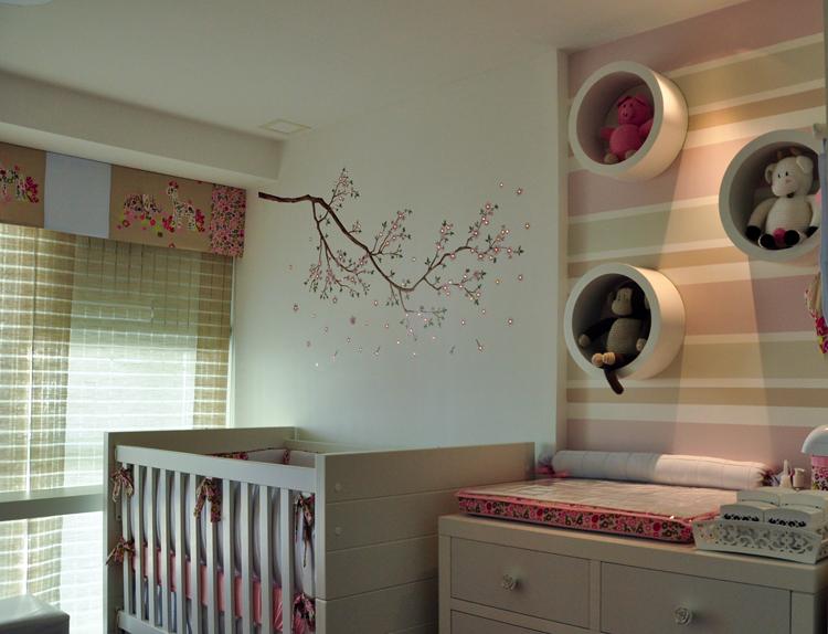 decoracao quarto bebe pequenos ambientes : decoracao quarto bebe pequenos ambientes:Decoração de Quarto de Bebê – Arquitetura de Interiores