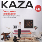 Leila dionizios na revista Kaza