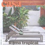 Leila Dionizio na revista Casa Estadão