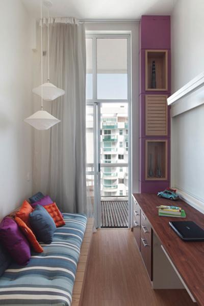 Dicas de decoração para quartos pequenos Leila Dionizios ~ Luminarias Em Quarto Pequeno