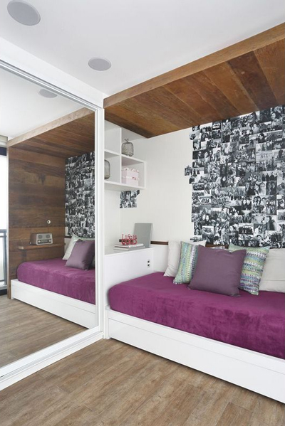 Dicas de decoração para quartos pequenos Leila Dionizios