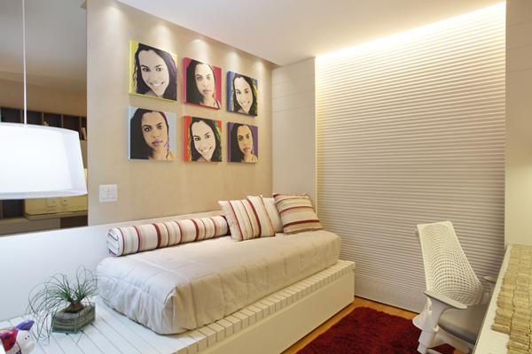 decoracao de interiores quartos femininos:Dicas de decoração para quartos pequenos