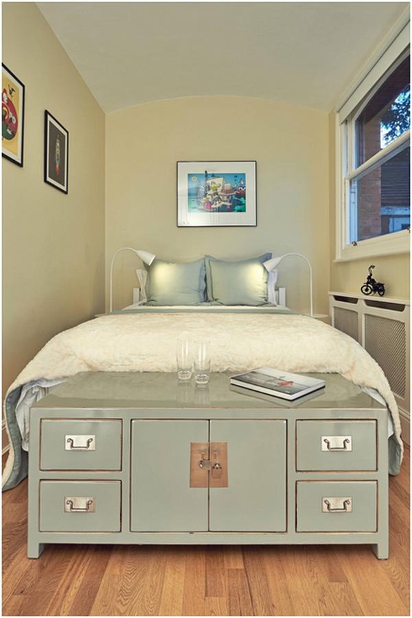 Como decorar quartos pequenos de casal ~ Quarto Casal Pequeno Com Escritorio