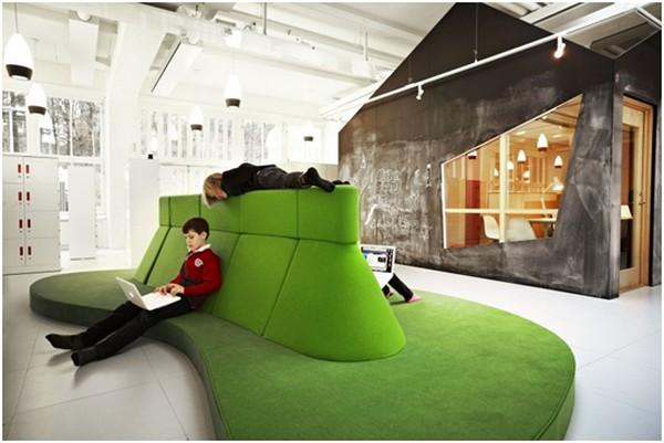Escola da Rede Vittra na Suécia