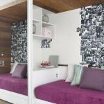 Decoração de quartos pequenos femininos