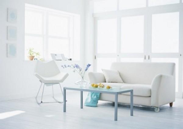 Ambiente com parede branca