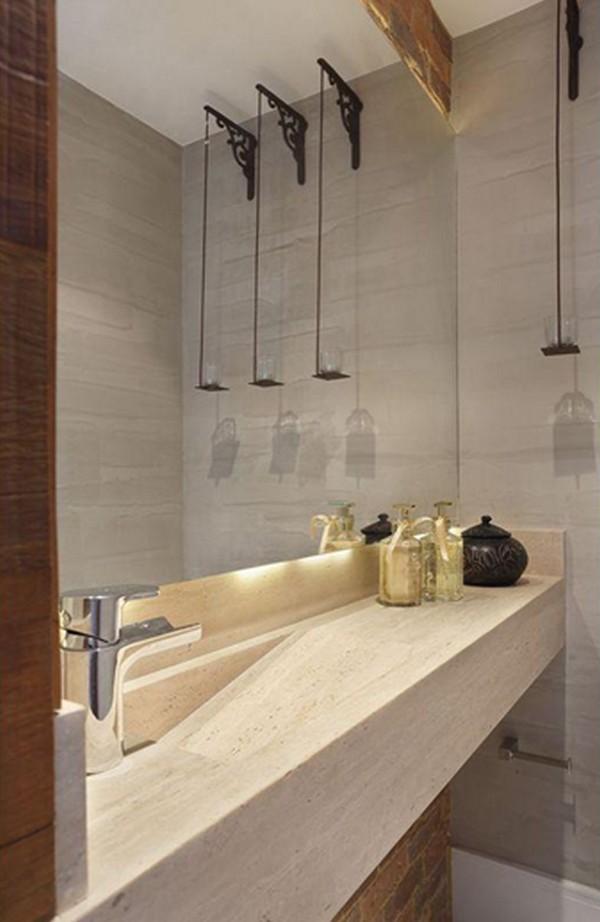 Super Como decorar banheiros pequenos XB03