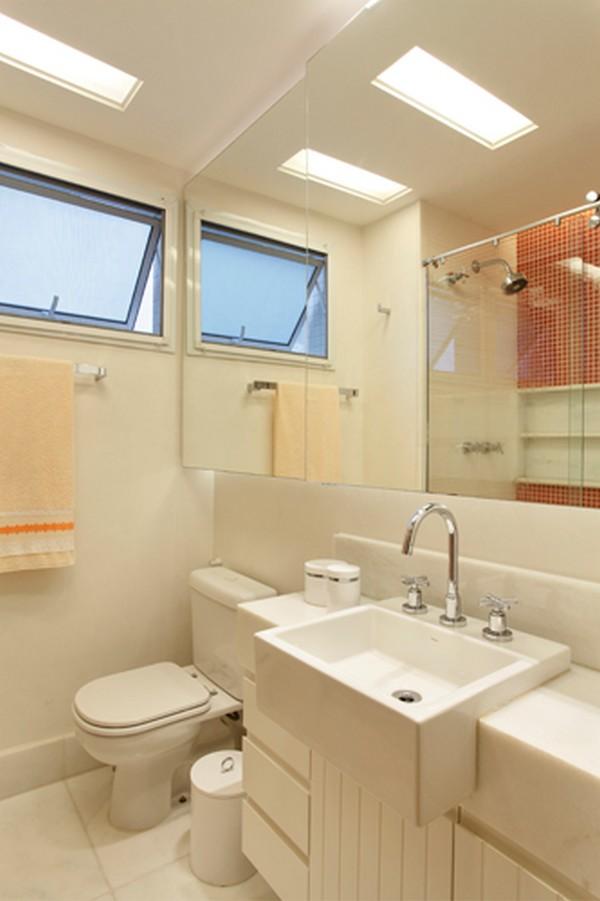 Populares Como decorar banheiros pequenos SR86