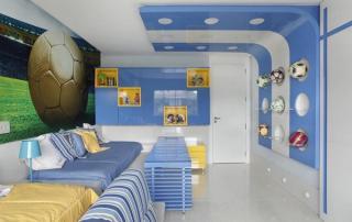 Decoração para quarto de menino azul