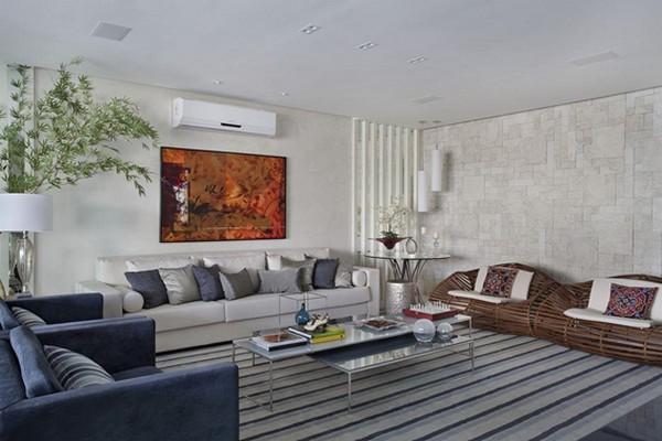 Como Decorar A Sala De Estar Com Tapete : Como decorar a sala de estar