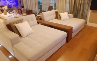 Piso ideal para cada ambiente da casa sala de estar