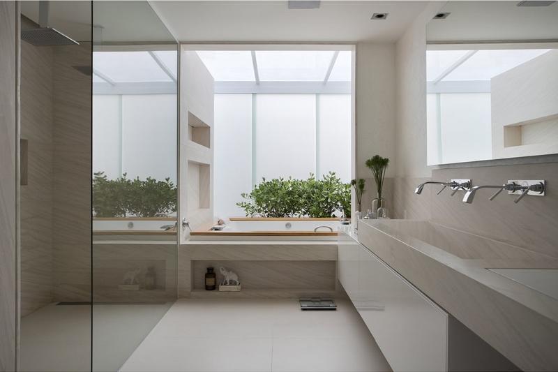 Arquitetura para Apartamento de Luxo na Barra da Tijuca -> Arquitetura De Banheiro Com Banheira