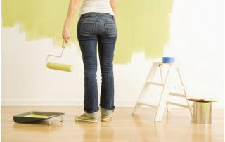 Erros mais comuns ao pintar a casa