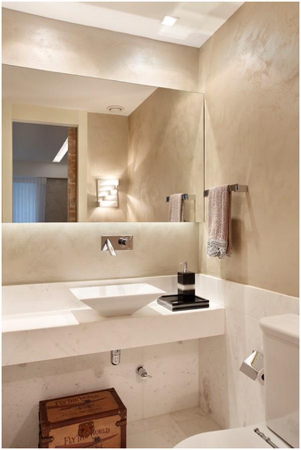 Como escolher as louças do banheiro -> Loucas Banheiro Pequeno