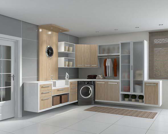 Saiba como decorar uma lavanderia e melhore seu espaço