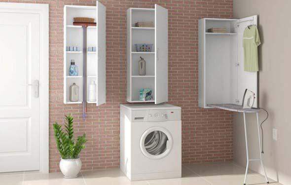 Veja como fazer a decoração de uma lavanderia