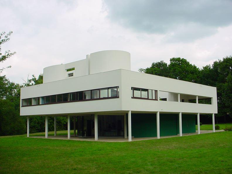 Villa Savoye, de Le Corbusier